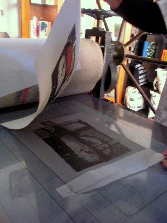 proceso litográfico