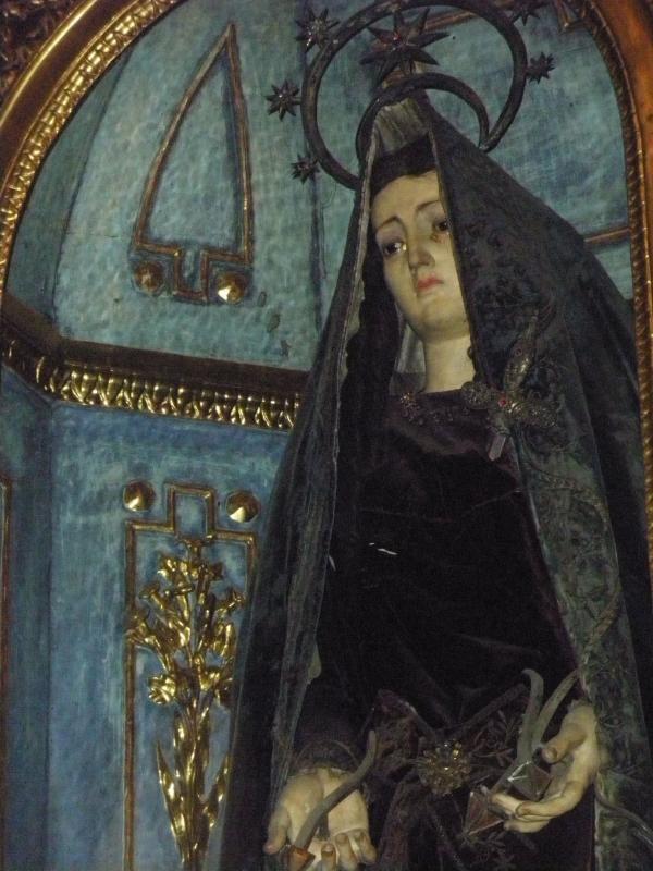 Virgen en Oporto