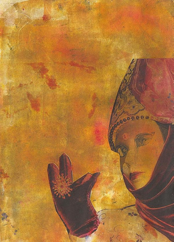 mujer en Venecia