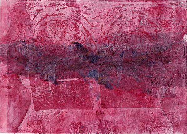 grabado en la piedra rosa
