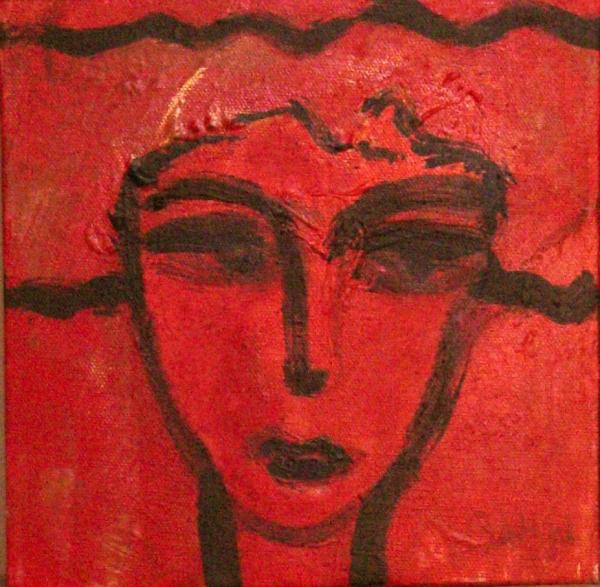 Muñeca roja