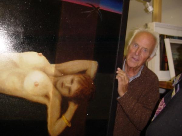 En el estudio de Helmut Maletzke