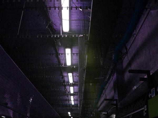 El metro en obras, pero aterciopelado