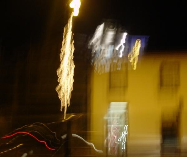 Fuego de la noche açoriana