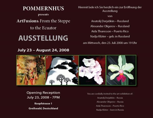 Exposición en Greifswald